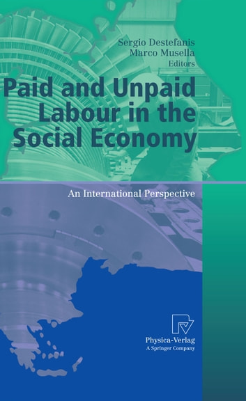 Paid and Unpaid Labour in the Social Economy - An International Perspective ebook by
