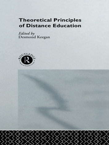 Theoretical Principles of Distance Education ebook by