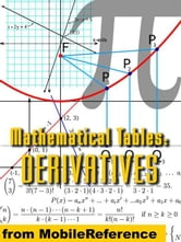 Mathematical Tables: Table Of Derivatives: (List Of Differentiation Identities) (Mobi Study Guides) ebook by MobileReference