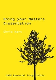 Doing Your Masters Dissertation ebook by Dr Christopher Hart