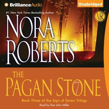 Pagan Stone, The audiobook by Nora Roberts
