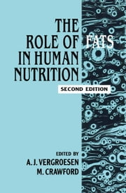 Role of Fats in Human Nutrition ebook by Meurant, Gerard