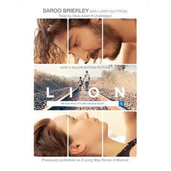Lion audiobook by Saroo Brierley,Larry Buttrose