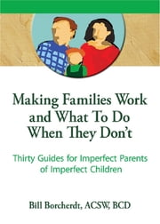 Making Families Work and What To Do When They Don't - Thirty Guides for Imperfect Parents of Imperfect Children ebook by Terry S Trepper,Bill Borcherdt