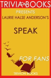 a review of speak a book by laurie halse The paperback of the speak by laurie halse anderson at barnes & noble free shipping on $25 or more board books buy 2 get 1 free —the horn book, starred review.