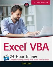 Excel VBA 24-Hour Trainer ebook by Tom Urtis