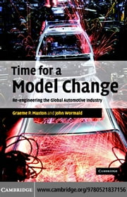 Time for a Model Change ebook by Maxton,Graeme P.