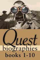 Quest Biographies Bundle — Books 1–10 - Emma Albani / Emily Carr / George Grant / Jacques Plante / John Diefenbaker / John Franklin / Marshall McLuhan / Phyllis Munday / Wilfrid Laurier / Nellie McClung ebook by Vladimir Konieczny, Darcy Dunton, Michelle Labrèche-Larouche,...
