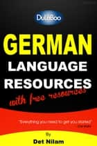 German Language Resources ebook by Det Nilam