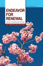 Endeavor for Renewal ebook by M. Fethullah Gulen