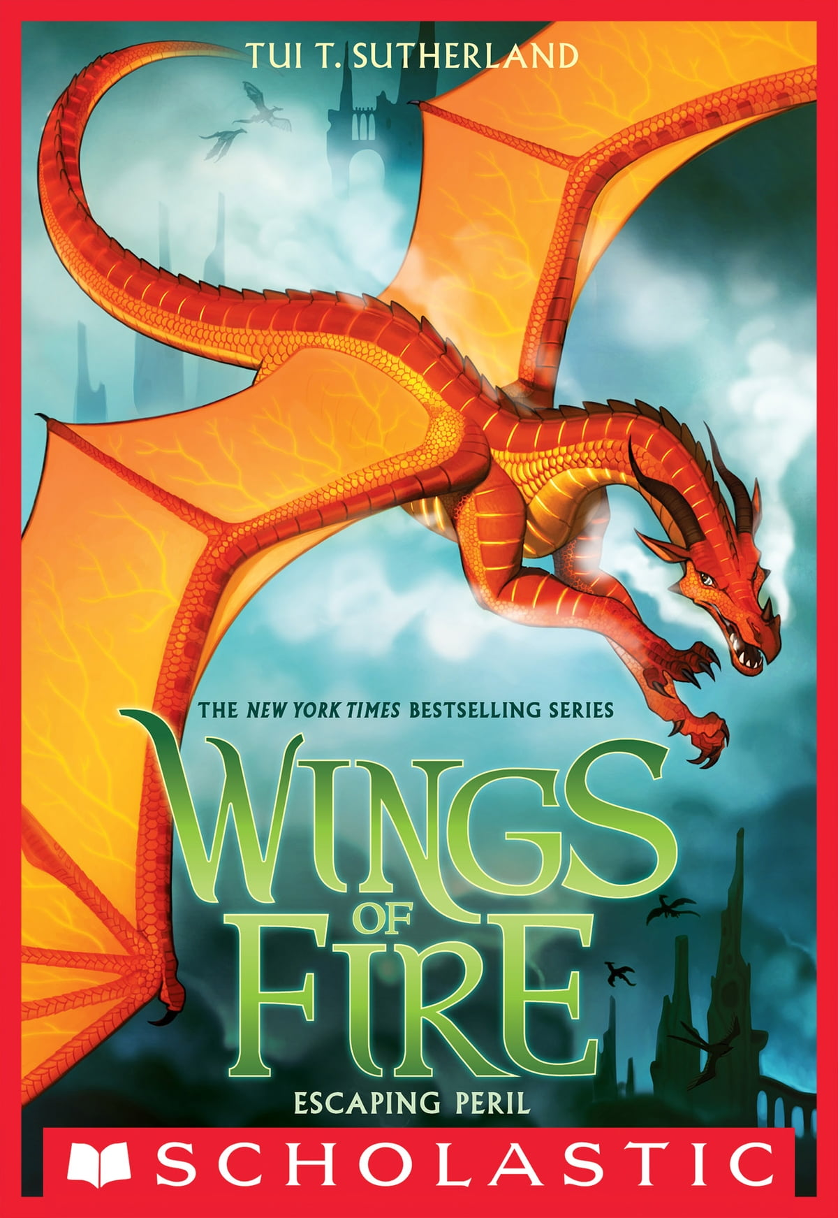Escaping Peril (wings Of Fire, Book 8) Ebook By Tui T Sutherland