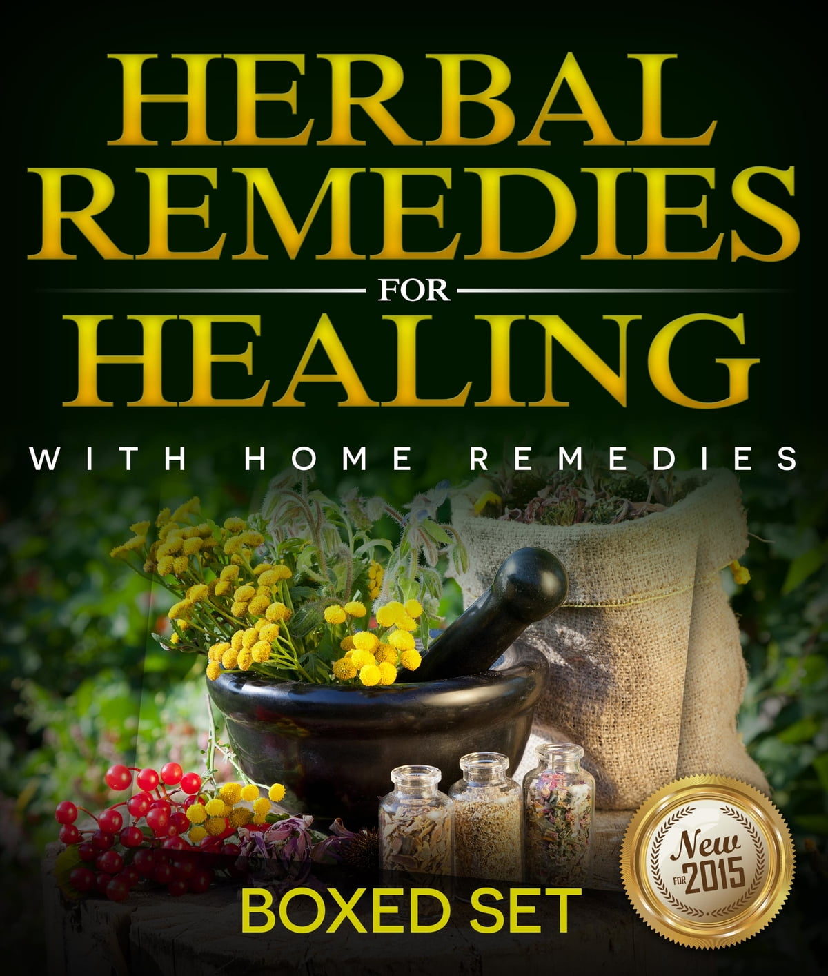 35325e36ea4c9 Herbal Remedies For Healing With Home Remedies: 3 Books In 1 Boxed ...