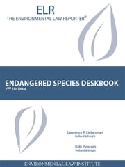 Liebesman and Petersen's Endangered Species Deskbook, 2d ebook by Lawrence Liebesman,Rafe Petersen