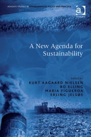 A New Agenda for Sustainability ebook by Mr Bo Elling,Mr Erling Jelsøe,Ms Maria Figueroa,Professor Kurt Aagaard Nielsen,Professor Adrian McDonald