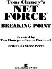 Breaking Point - Net Force 04 ebook by Tom Clancy,Steve Pieczenik