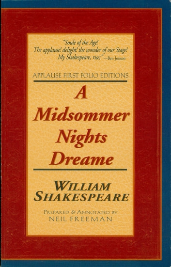 A Midsommer Nights Dreame - Applause First Folio Editions ebook by William Shakespeare
