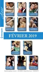 11 romans Azur (n° 4048 à 4058 - Février 2019) ebook by