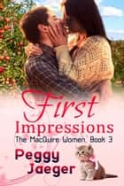 First Impressions ebook by Peggy  Jaeger
