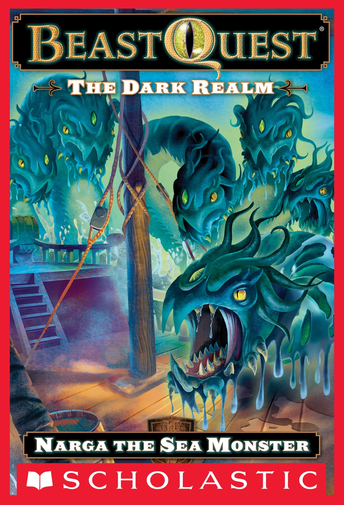 Beast quest 14 the dark realm skor the winged stallion ebook by beast quest 15 the dark realm narga the sea monster narga the fandeluxe Epub