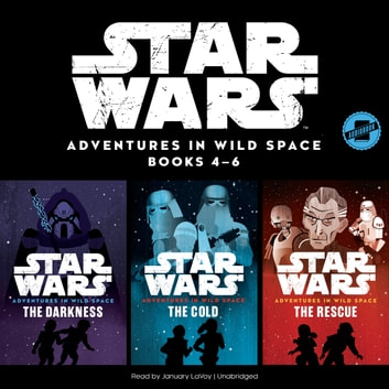 Star Wars Adventures in Wild Space: Books 4–6 audiobook by Disney Press