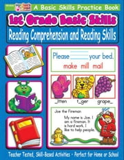 1st Grade Basic Skills: Reading Comprehension and Reading Skills ebook by Sevaly, Karen