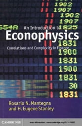 Introduction to Econophysics ebook by Mantegna, Rosario N.
