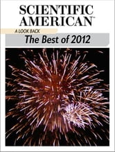 A Look Back - The Best of 2012 ebook by Scientific American Editors