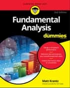 Fundamental Analysis For Dummies eBook by Matthew Krantz