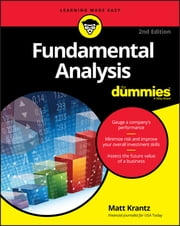 Fundamental Analysis For Dummies ebook by Matt Krantz