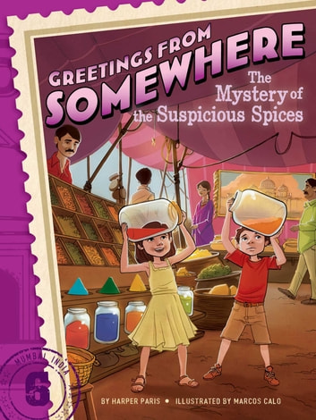The Mystery of the Suspicious Spices ebook by Harper Paris