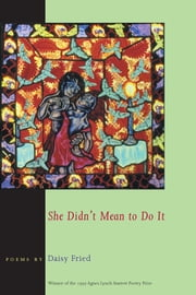 She Didn't Mean To Do It ebook by Daisy Fried