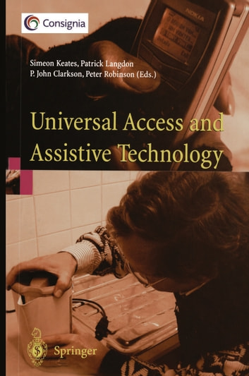 Universal Access and Assistive Technology: Proceedings of the Cambridge Workshop on UA and AT '02 (Adult) photo