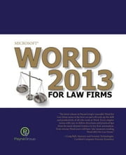 Word 2013 for Law Firms ebook by The Payne Group
