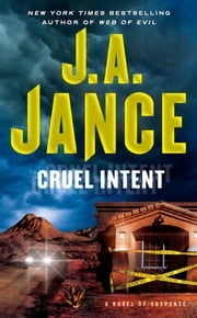 Cruel Intent ebook by J.A. Jance