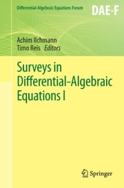 Surveys in Differential-Algebraic Equations I ebook by Achim Ilchmann,Timo Reis