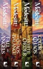Saga of Recluce: Books 6-9 - Fall of Angels, The Chaos Balance, The White Order, Colors of Chaos ebook by L. E. Modesitt Jr.