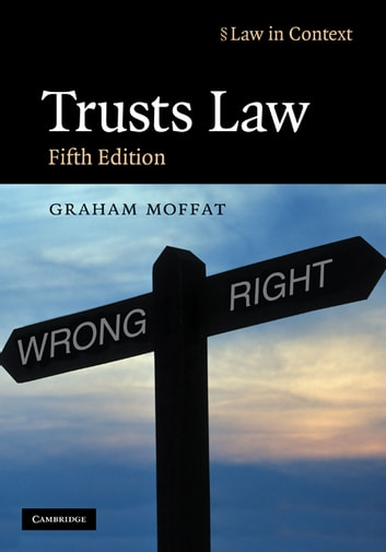 Trusts Law - Text and Materials ebook by Graham Moffat,Gerry Bean,Rebecca Probert