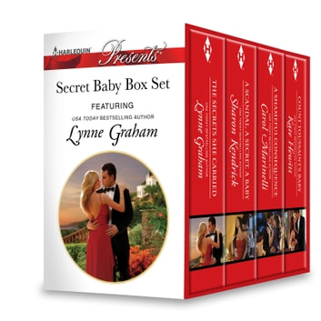 Secret Baby Box Set - A Secret Baby Romance ebook by Lynne Graham,Sharon Kendrick,Carol Marinelli,Kate Hewitt