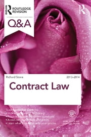 Q&A Contract Law 2013-2014 ebook by Richard Stone