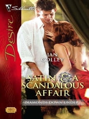 Satin & a Scandalous Affair ebook by Jan Colley