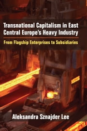 Transnational Capitalism in East Central Europe's Heavy Industry - From Flagship Enterprises to Subsidiaries ebook by Aleksandra Sznajder Lee