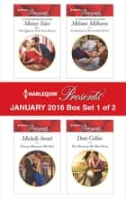 Harlequin Presents January 2016 - Box Set 1 of 2 - An Anthology ekitaplar by Maisey Yates, Michelle Smart, Melanie Milburne,...