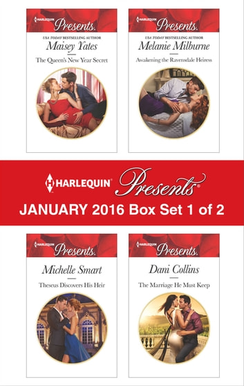 Harlequin Presents January 2016 - Box Set 1 of 2 - An Anthology eBook by Maisey Yates,Michelle Smart,Melanie Milburne,Dani Collins