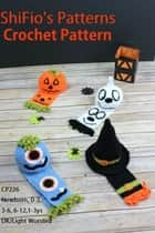 Halloween Hats & Scarfs Crochet Pattern #226 ebook by ShiFio's Patterns