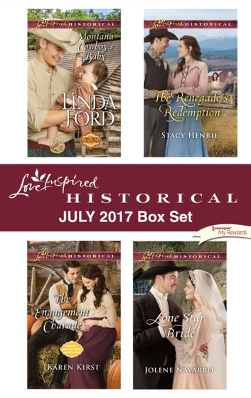 Love Inspired Historical July 2017 Box Set - An Anthology ebook by Linda Ford,Karen Kirst,Stacy Henrie,Jolene Navarro