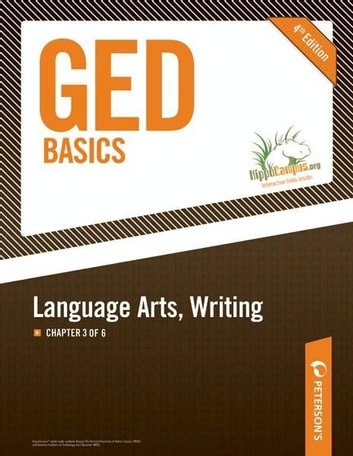 GED Basics: Language Arts, Writing: Chapter 3 of 6 ebook by Peterson's