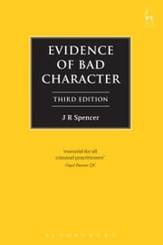 Evidence of Bad Character ebook by J R Spencer