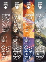 The Complete Dragonships of Vindras Series - (Bones of the Dragon, Secret of the Dragon, Rage of the Dragon, Doom of the Dragon) ebook by Tracy Hickman, Margaret Weis