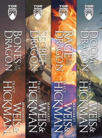 The Complete Dragonships of Vindras Series - (Bones of the Dragon, Secret of the Dragon, Rage of the Dragon, Doom of the Dragon) ebook by Tracy Hickman,Margaret Weis