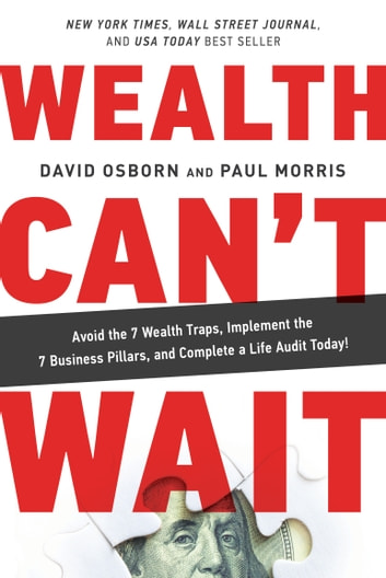 Wealth Can't Wait - Avoid the 7 Wealth Traps, Implement the 7 Business Pillars, and Complete a Life Audit Today! ebook by David Osborn,Paul Morris